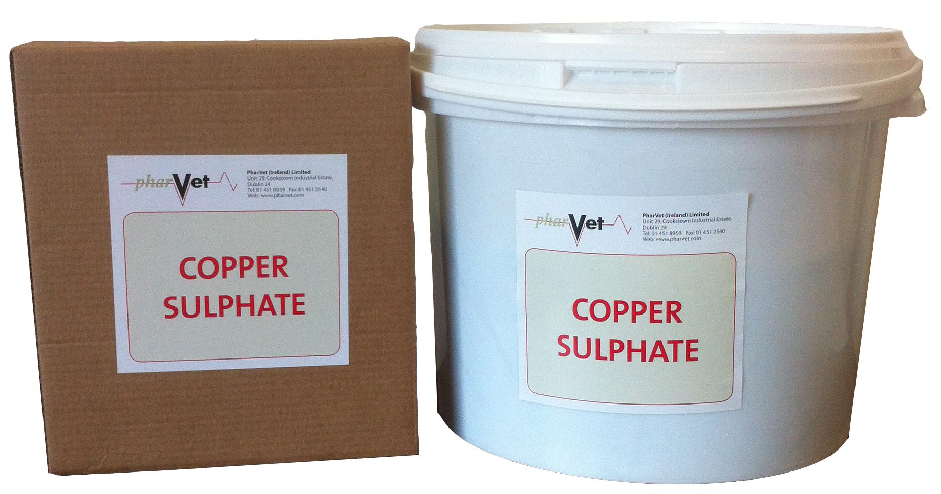 Bulk Powders & Additives : Copper Sulphate